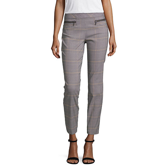 Hollywould Womens Skinny Pull-On Pants-Juniors