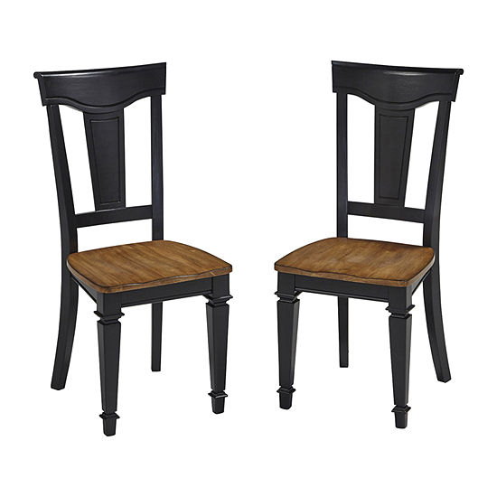 Americana Pair of Dining Chairs