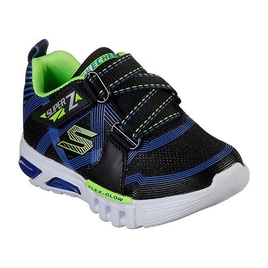 Skechers Flex-Glow Toddler Boys Sneakers