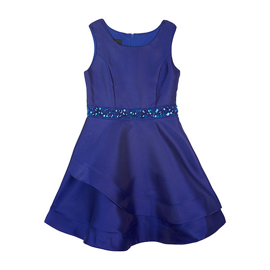 by&by girl Big Girls Sleeveless Party Dress