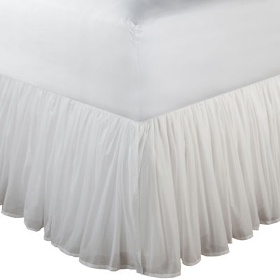 "Greenland Home Fashions Voile 15"" Bedskirt"