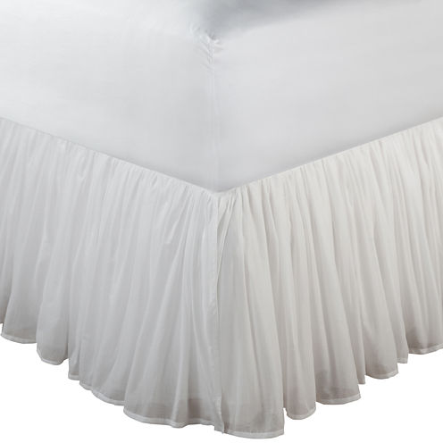 """Greenland Home Fashions Voile 18"""" Bedskirt"""