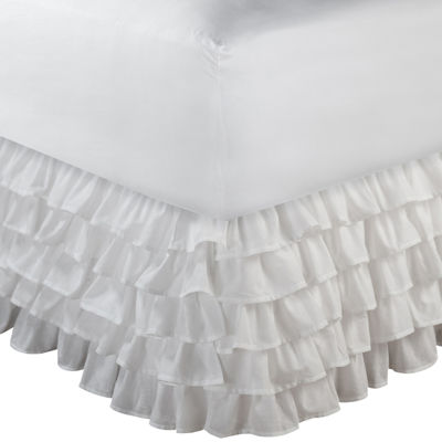 "Greenland Home Fashions Multi-Ruffle 15"" Bedskirt"