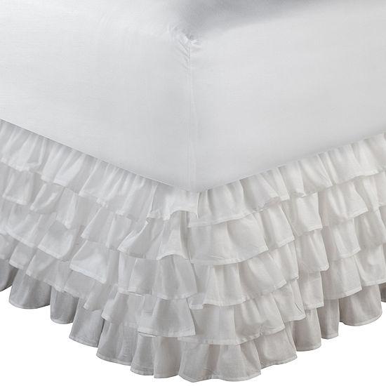 "Greenland Home Fashions Multi-Ruffle 15"" Bedskirt"