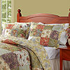 Greenland Home Fashions Blooming Prairie Floral Quilt Set