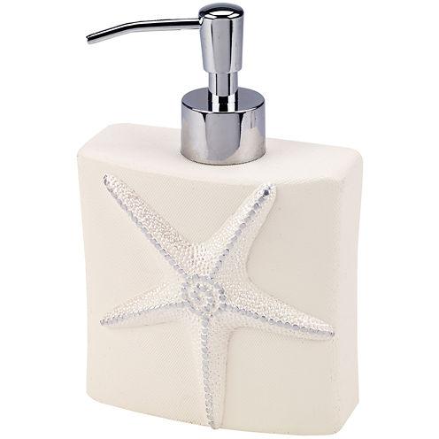 Avanti Sequin Shell Soap Dispenser