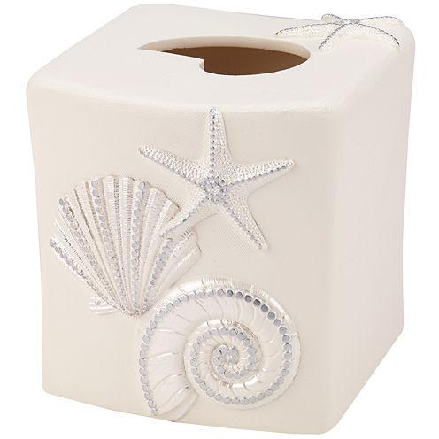 Avanti Sequin Shell Tissue Holder