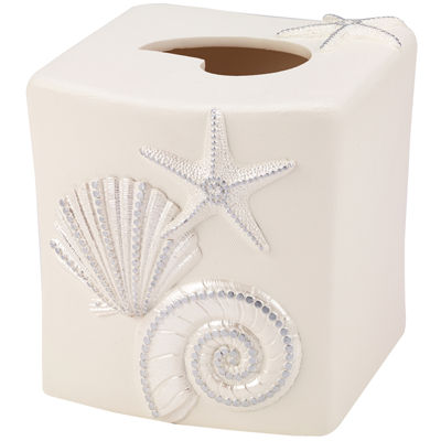 Avanti Sequin Shell Tissue Holder