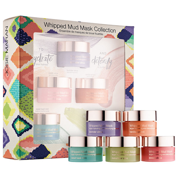 Josie Maran Whipped Mud Mask Collection