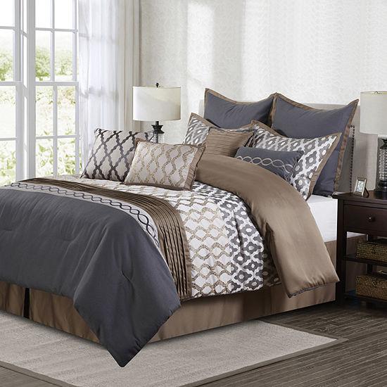 Caval 10 Pc Comforter Set