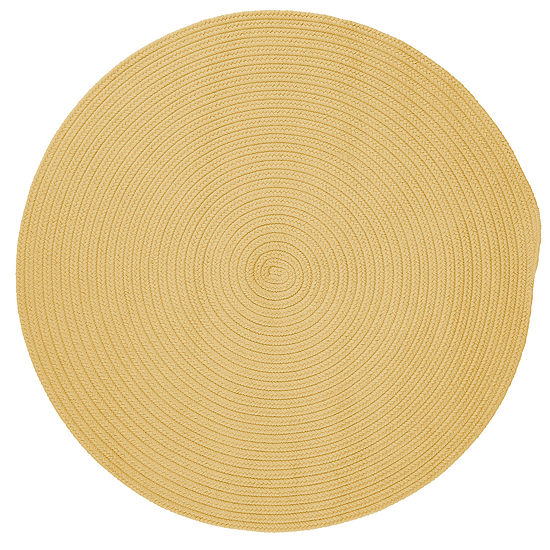 Colonial Mills Nantucket Reversible Braided Indoor Outdoor Round Rug