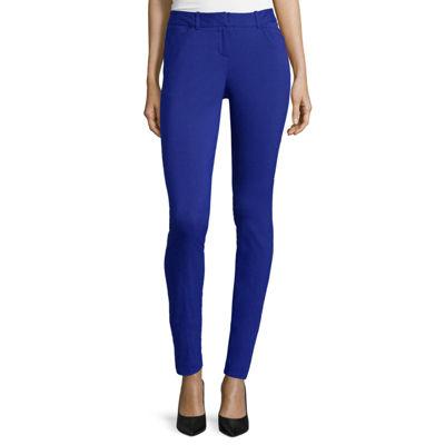 Worthington® Slim-Fit Ankle Pants
