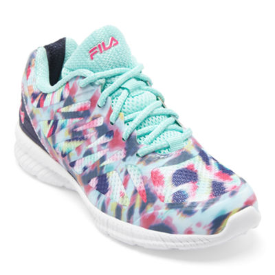 Fila Speedstride Girls Running Shoes - Little Kids