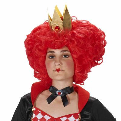 Red Heart Queen Adult Wig