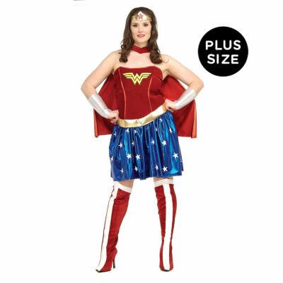 Wonder Woman Adult Plus - Plus Size
