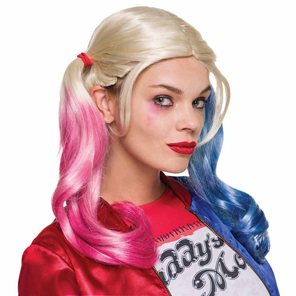 Suicide Squad: Harley Quinn Adult Wig