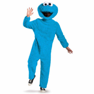 Sesame Street Plush Prestige Adult Cookie Monster Costume