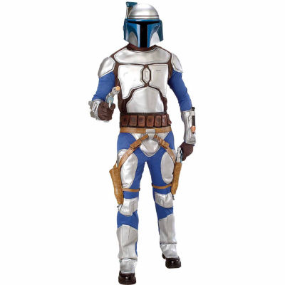 Star Wars  Jango Fett Deluxe Adult - One-Size FitsMost