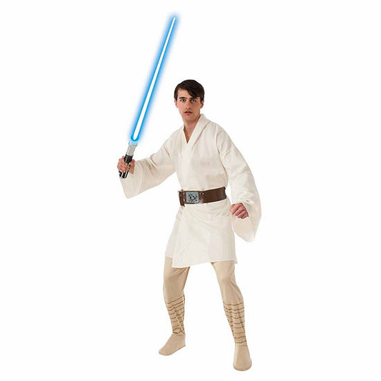 Star Wars Deluxe Luke Skywalker Adult Costume One Size Fits Most