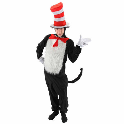 Dr. Seuss The Cat in the Hat - Deluxe Adult Costume