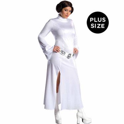 Princess Leia Plus Adult Costume