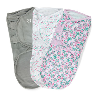 SwaddleMe 3-pk. Blanket - Floral Multi
