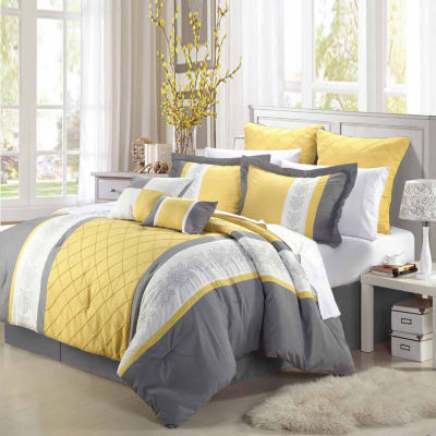 Chic Home Livingston 12-pc. Midweight Comforter Set