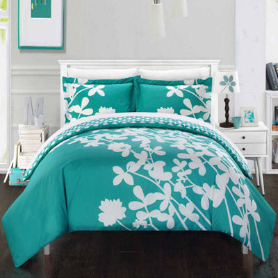 Chic Home Calla Lily 3-pc. Duvet Cover Set