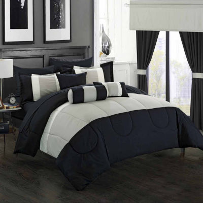 Chic Home Mackenzie 20-pc. Midweight Comforter Set