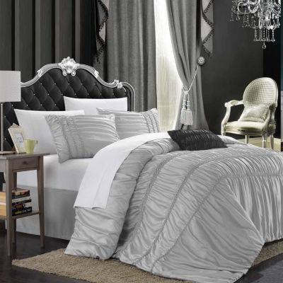 Chic Home Romantica 9-pc. Midweight Comforter Set