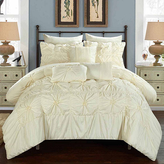 Chic Home Springfield Midweight Embroidered Comforter Set