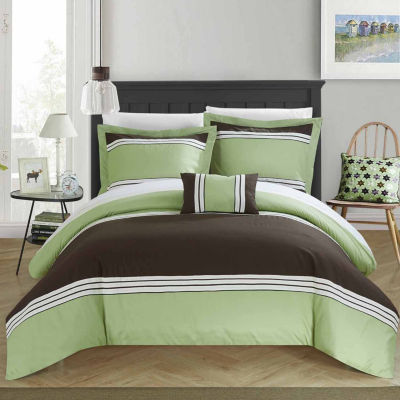 Chic Home Madison 8-pc. Duvet Cover Set