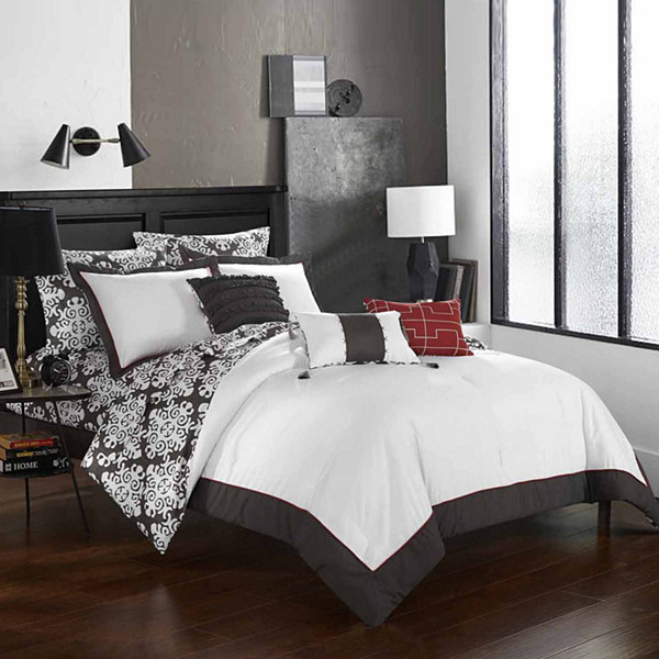 Chic Home Tania Midweight Reversible Comforter Set
