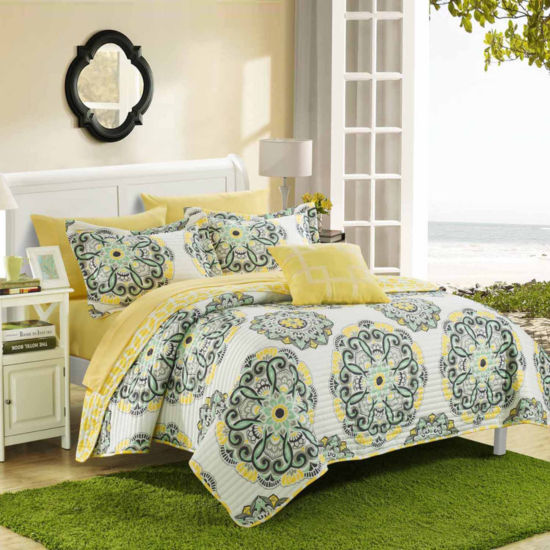 Chic Home Madrid Reversible Quilt Set