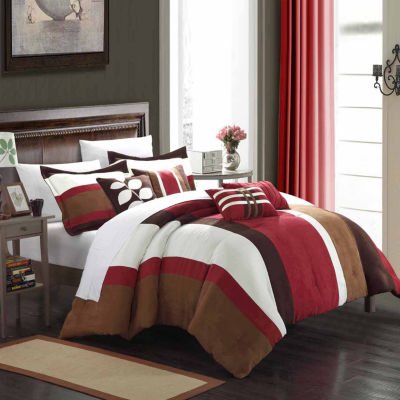 Chic Home Highland Midweight Embroidered Comforter Set