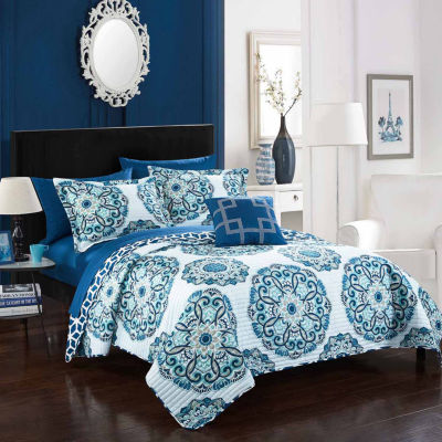 Chic Home Madrid Quilt Set