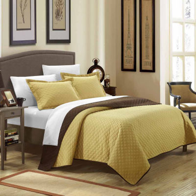 Chic Home Teresa Reversible Quilt Set