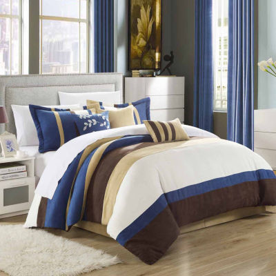 Chic Home Cathy 7-pc. Midweight Comforter Set