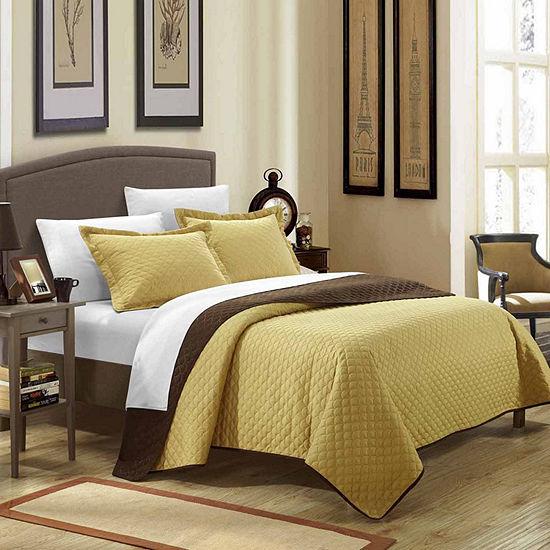 Chic Home Teresa 7-pc. Reversible Quilt Set