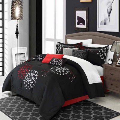 Chic Home Cheila 12-pc. Midweight Comforter Set