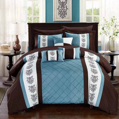 Chic Home Clayton. Midweight Comforter Set
