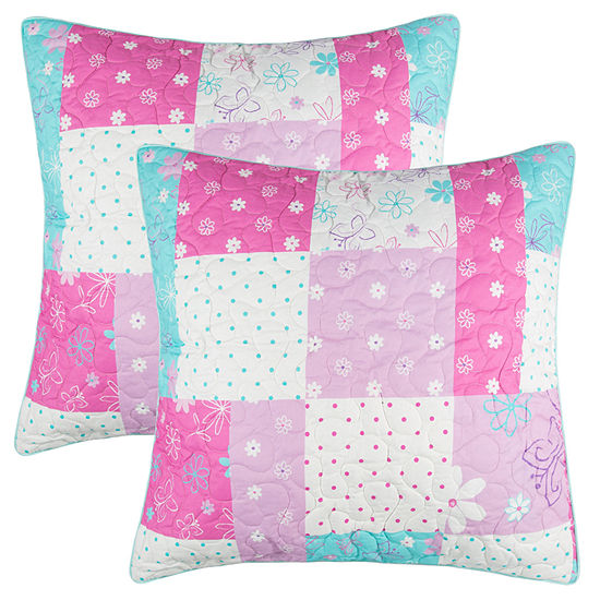 Lullaby Bedding Butterfly Euro Sham