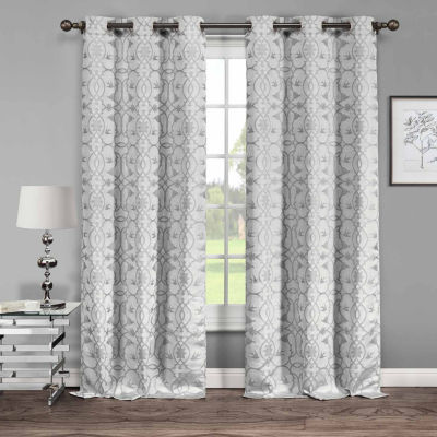 Duck River Dawn 2-Pack Curtain Panel