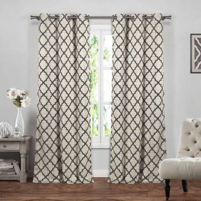 Blackout 365 Crysteena 2-Pack Blackout Curtain Panel
