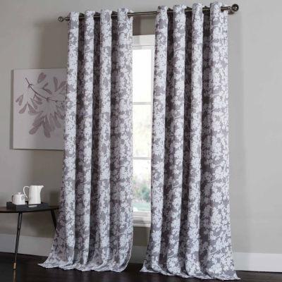 Kensie Ainna 2-Pack Curtain Panel