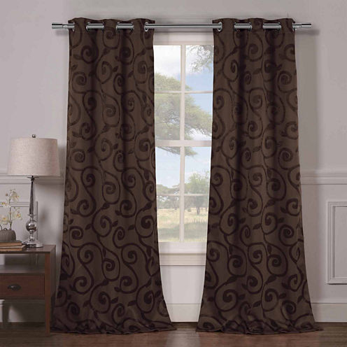 Duck River Lewis 2-Pack Blackout Curtain Panel