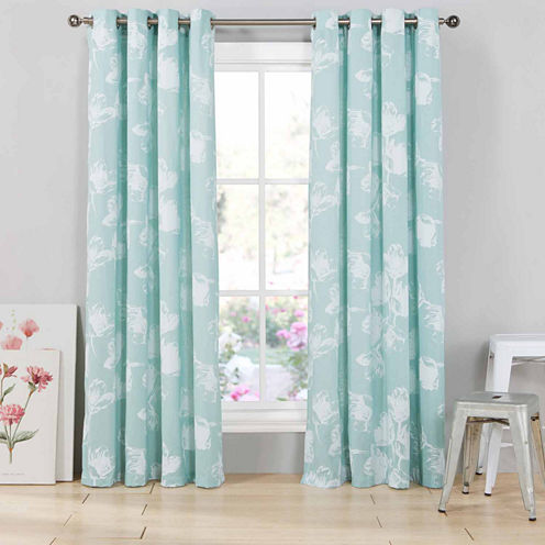 Kenise Aster 2-Pack Curtain Panel