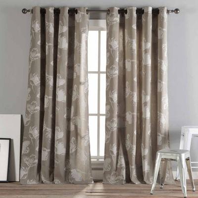Kensie Aster 2-Pack Curtain Panel