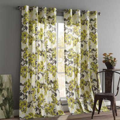 Kensie Etta 2-Pack Curtain Panel