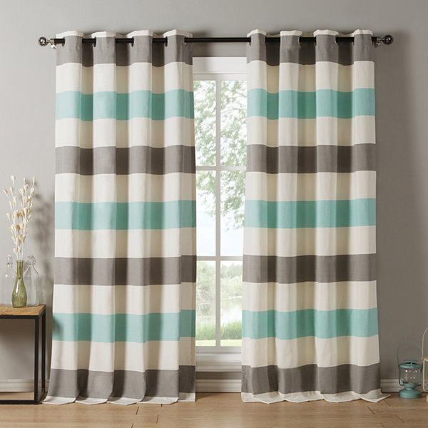 Kensie Iouri 2-Pack Curtain Panel